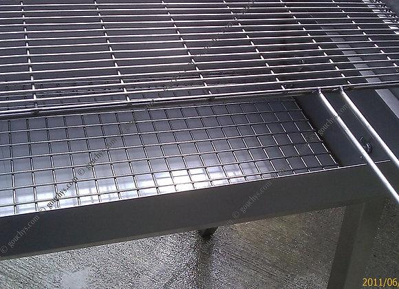 Medium Stainless Adjustable BBQ - 915 x 400mm