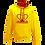 Thumbnail: Rejuvenation Yellow & Red Hoody - Crown Logo