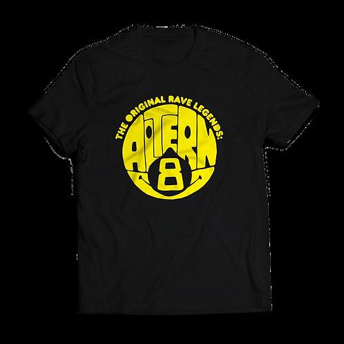 Altern8 'Rave Legends' Black T-shirt