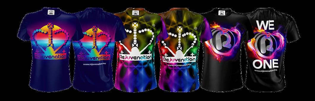New Rejuvenation T-shirt Designs