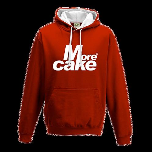 More Cake Red & White Hoody