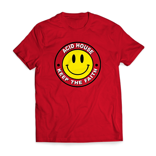 Acid House 'Keep the Faith' T-shirt