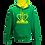 Thumbnail: Rejuvenation Green & Yellow Hoody - Crown Logo