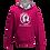 Thumbnail: Rejuvenation Hot Pink & Silver Hoody - ® Logo