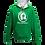 Thumbnail: Rejuvenation Green & White Hoody - ® Logo