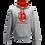 Thumbnail: Rejuvenation Grey & Red Hoody - ® Logo