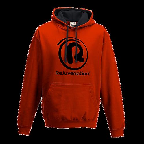 Rejuvenation Red & Black Hoody - ® Logo