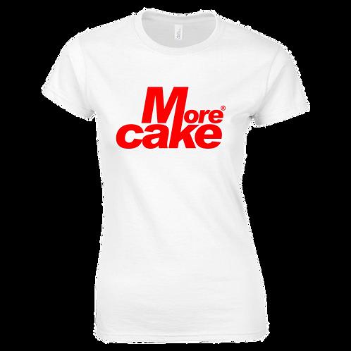 Ladies White More Cake TShirt