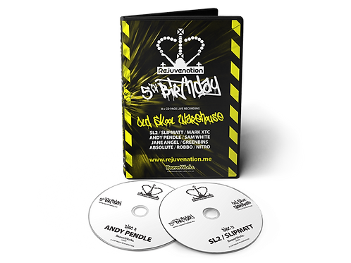 Rejuvenation 5th Birthday - 8 CD Pack (Old Skool)