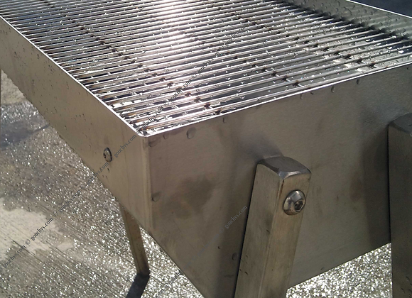 Stainless Steel Cook 'n' Serve BBQ - 610 x 400mm