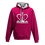 Thumbnail: Rejuvenation Hot Pink & Silver Hoody - Crown Logo