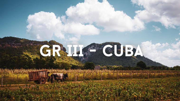 Les rues de Cuba   RICOH GR III