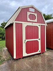 8x12 Lofted Barn