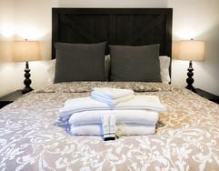 Hacienda Room bed
