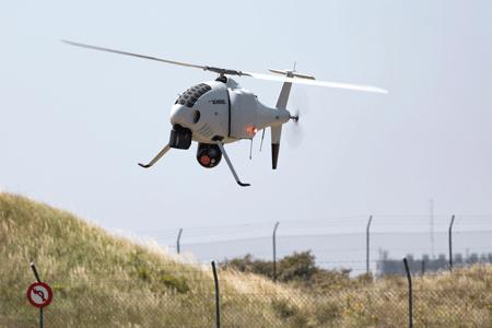 Schiebel completes successful  S-100 trials for the Belgian Navy