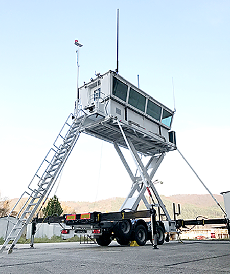 Barrett provides HF radio for air traffic control towers for peacekeeping forces