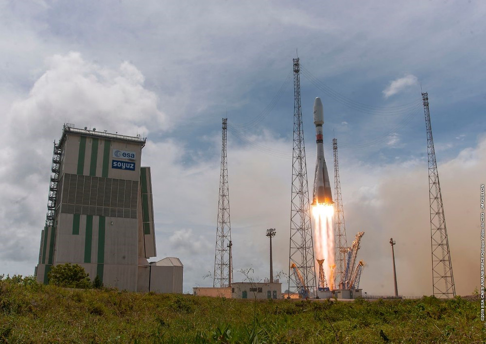 Arianespace completes deployment of O3b constellation on fifth mission for operator SES