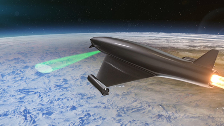 Directed energy atmospheric lens could revolutionise future battlefields