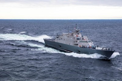 Littoral Combat Ship 15 (Billings) delivered to US Navy