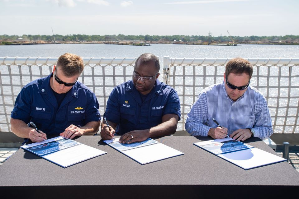 Huntington Ingalls Industries delivers Eighth National Security Cutter Midgett to US Coast Guard