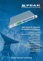 High Quality RF Equipment for Satellite Earth Stations