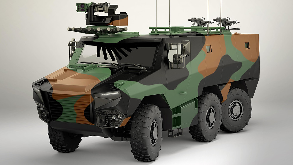 319 GRIFFON and 20 JAGUAR vehicles ordered from Nexter, Renault Trucks Defense and Thales by the DGA as part of the SCORPION programme