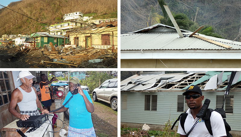 First responders support Dominica's rebuilding after Hurricane Maria