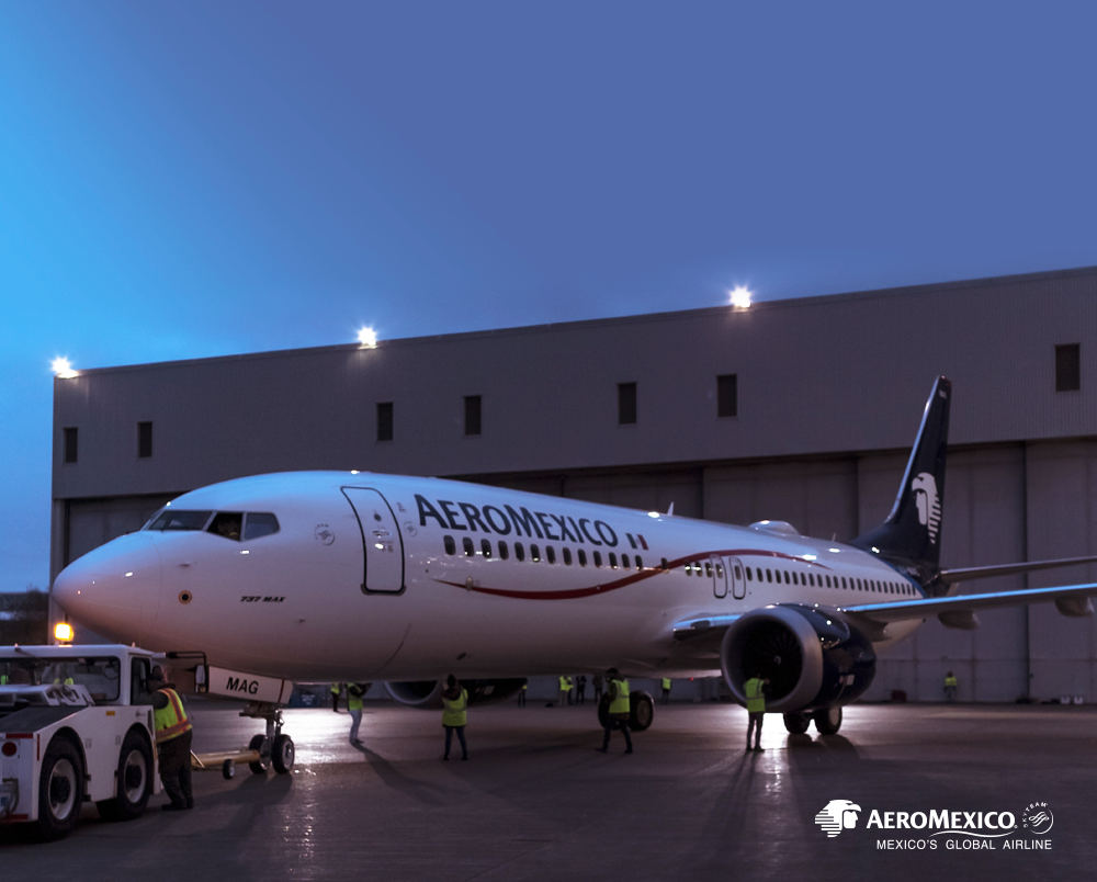 Aeromexico selects Viasat in-flight Internet for new Boeing 737 MAX Aircraft