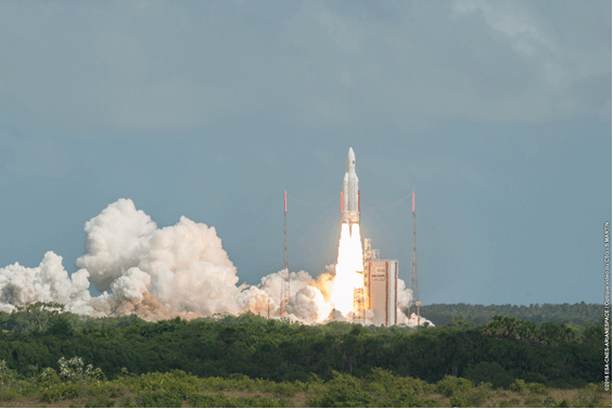 Twin success for Ariane 5 and European space industry