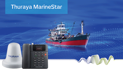 Thuraya MarineStar offers game-changing voice, tracking and monitoring in a single flexible product