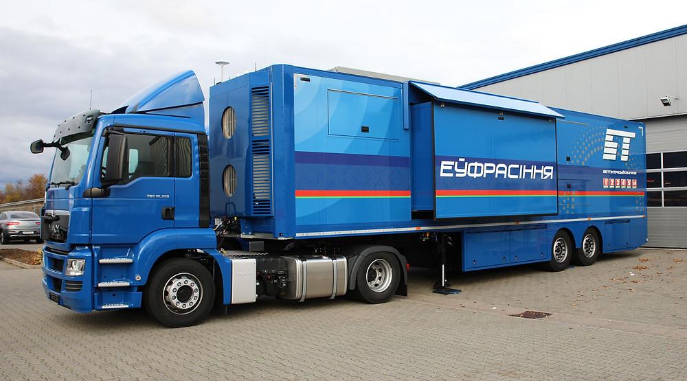 Broadcast Solutions starts delivery of major order to State Broadcaster Belarus TV