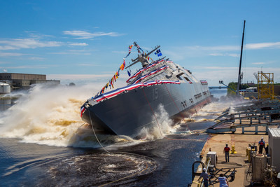 Lockheed Martin-led team launches future USS Billings