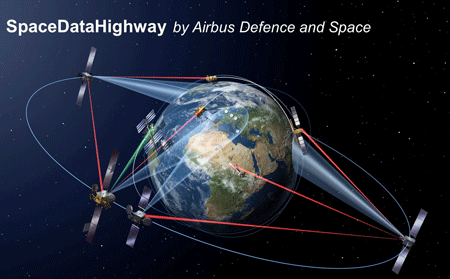 SpaceDataHighway to reach Asia-Pacific