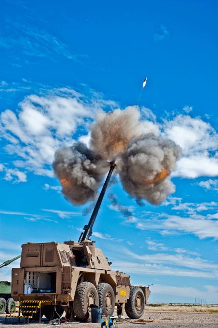 Artillery orders soars for Rheinmetall