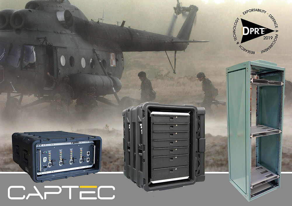 Captec to exhibit specialist defence computing equipment at DPRTE