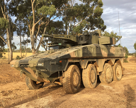 Rheinmetall set to supply the Australian Defence Force with over 200 Boxer wheeled armoured reconnaissance vehicles