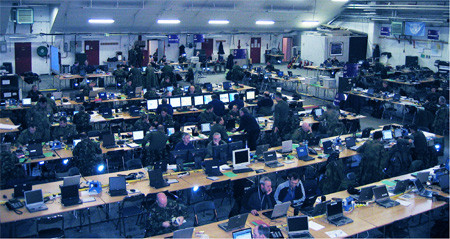 MASS supports UK Joint Force Air Component training exercise