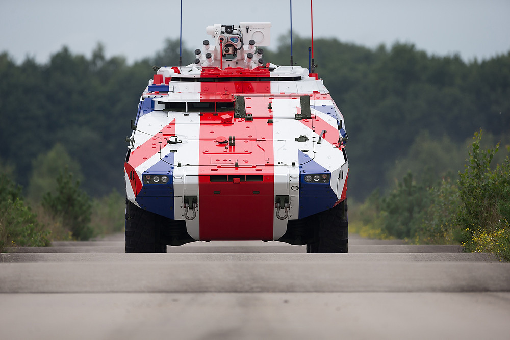United Kingdom planning procurement of Boxer wheeled vehicle