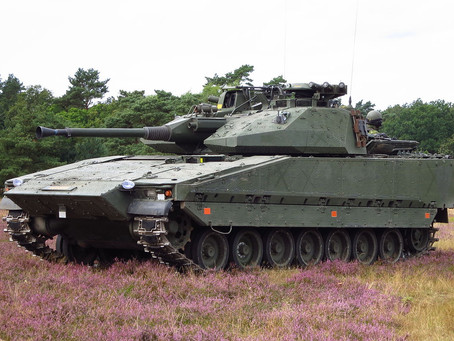 Milrem and BAE Systems sign maintenance support contract for Estonian CV90s