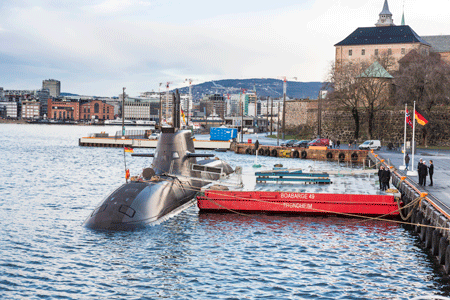 KONGSBERG, thyssenkrupp Marine Systems and Atlas Elektronik enter into a comprehensive teaming agreement for submarines
