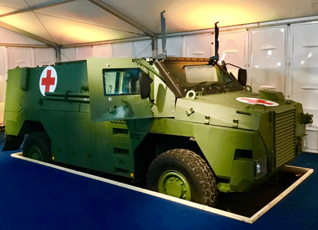 Thales's new Bushmaster MR6 to protect soldiers' lives