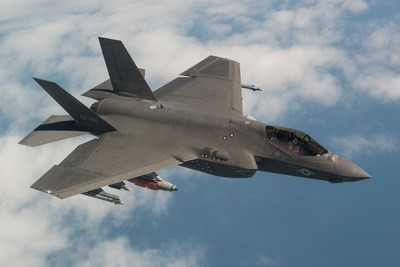 Pentagon and Lockheed Martin finalize 2018 F-35 sustainment contract to enhance readiness and reduce