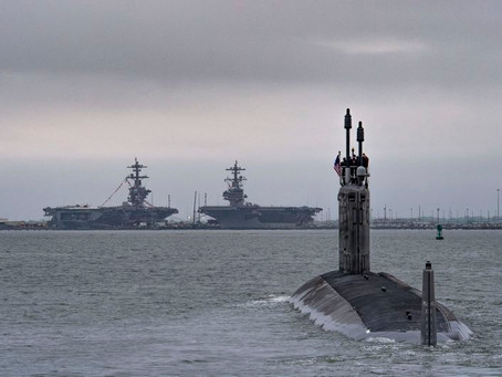Huntington Ingalls Industries completes initial sea trials of Virginia-Class Submarine Indiana (SSN