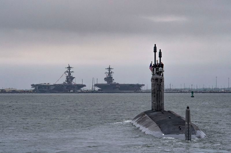 Huntington Ingalls Industries completes initial sea trials of Virginia-Class Submarine Indiana (SSN 789)