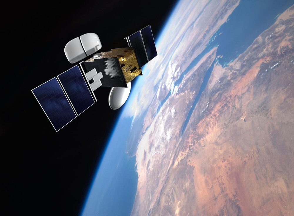 Avanti's HYLAS 1 Ka-band satellite