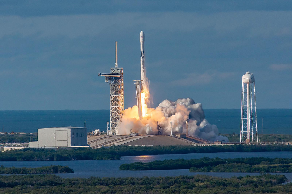 Es'hail-2 successfully launched from Kennedy Space Center