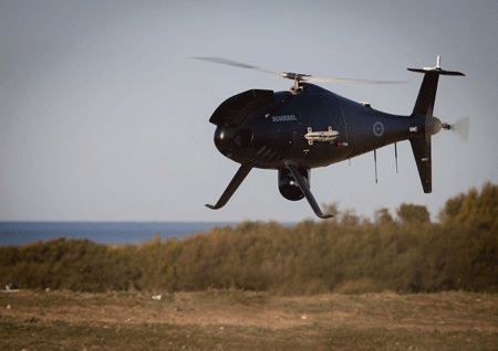 Schiebel Camcopter® S-100 unmanned air system (UAS) wins contract with Royal Australian Navy