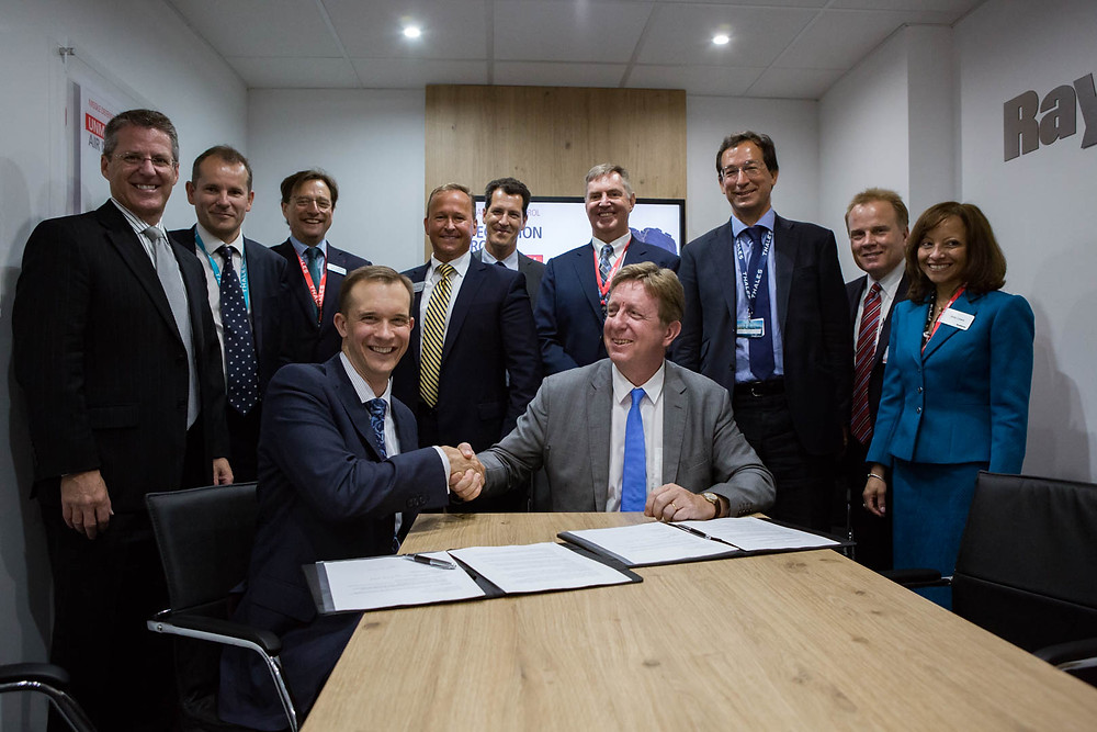 ThalesRaytheonSystems and Lockheed Martin have signed a MoU. Copyright Nicolas Gornas