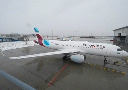 Eurowings will be first low-cost carrier to offer Inmarsat's GX Aviation in-flight broadband service