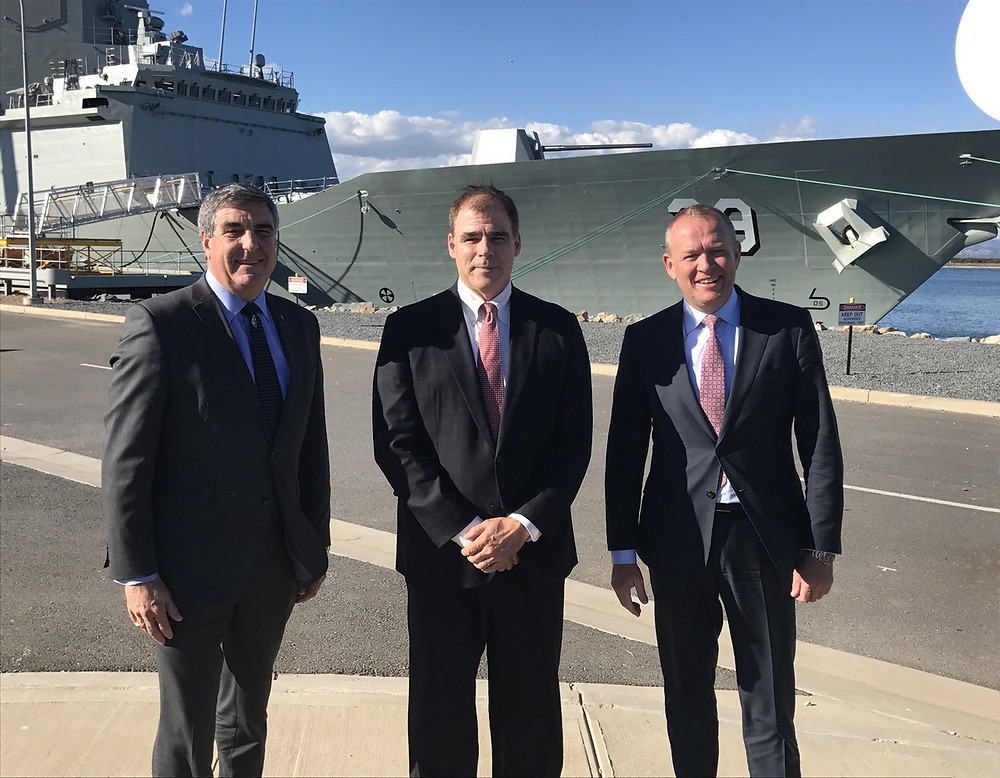Damen partnership with ASC Shipbuilding and Forgacs Marine and Defence